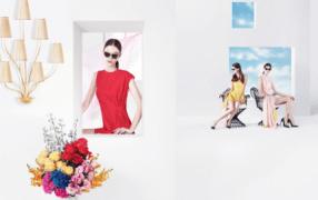 Dior-Werbung im Stil Magrittes