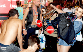 Seminaked Party by Desigual