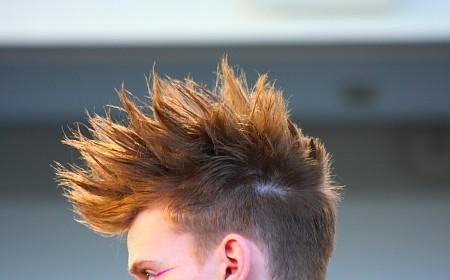 Haargel Frisuren