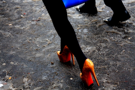 Modepilot-Louboutin-Mode-Fashion-Schuhe-Paris in Schnee-Mode-fashion-Blog