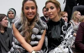 Streetstyle: junge Haute-Couture-Kundinnen