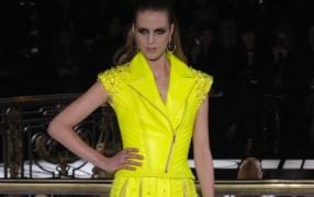 Versace Haute Couture: sexy neon