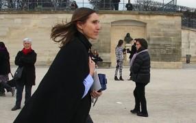 Annette Weber fliegt zu Valentino