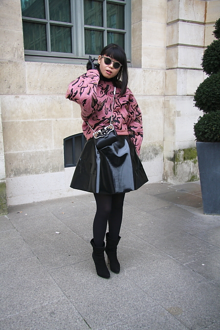 Modepilot-Streetstyle-Balenciaga-Sweater-Fashionweek-Paris-Barbara Markert-Mode-Blog