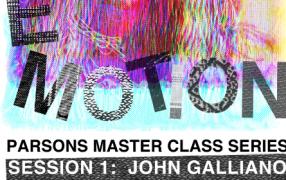 John Galliano lehrt an der Parsons School