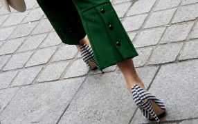 Streetstyle: Vichy-High-Heels
