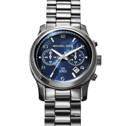 Modepilot-Michael Kors, World Food Programme Silver Medium Watch- Photographer Dylan Griffin for BA REPS