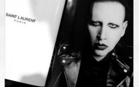 Marilyn Manson wirbt für Saint Laurent