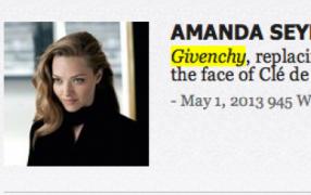 Armanda Seyfried löst Liv Tyler ab bei Givenchy