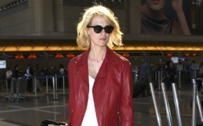 January Jones is a Red Racer at LAX