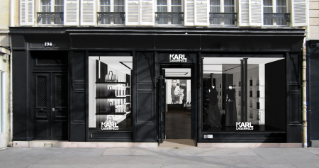 Modepilot-Karl Lagerfeld-Store-Paris-Technik-Mode-Blog
