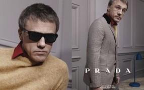 Christoph Waltz für Prada