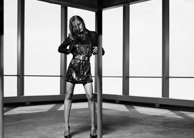 Modepilot-YSL-Hedi Slimane-Sasha Pivarova-Kampagne-Cruise 2014-Fashion Blog