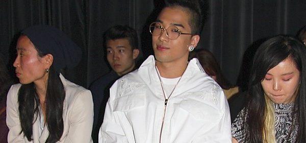 Der größte Star der Fashionweek: Taeyang