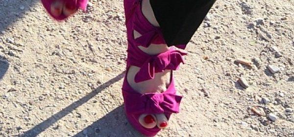 Streetstyle: Rot zu Pink