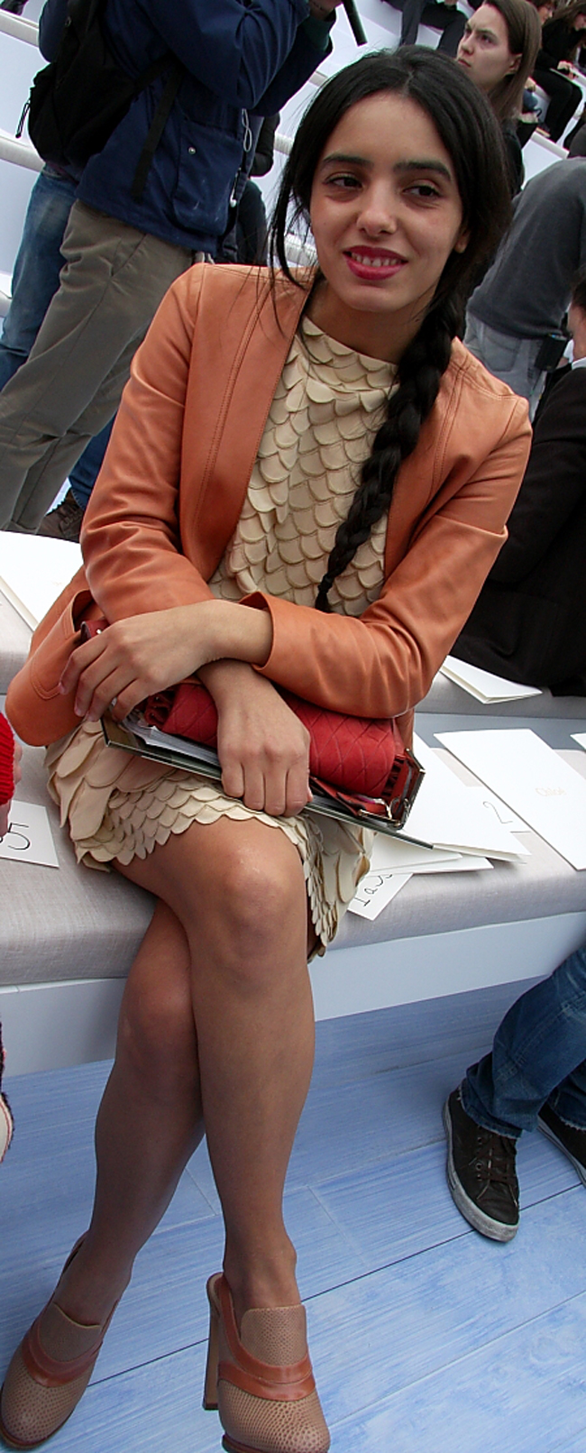 Modepilot-Streetstyle-Schuppenkleid-Blazer_Fashionweek-Paris-Mode-Blog-Barbara Markert