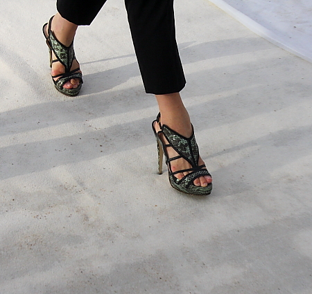 Streetstyle Schuhe High Heels