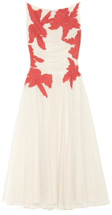 Tory Burch dress flowers Modepilot