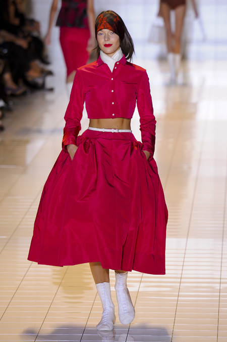 Modepilot-Trend-Röcke-weitschwingend-50er-Fashionweek-Paris-Mode-Blog-Rochas