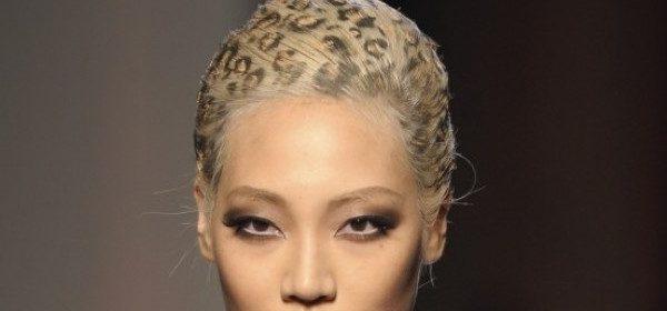 Haute Couture Frisuren bei Gaultier