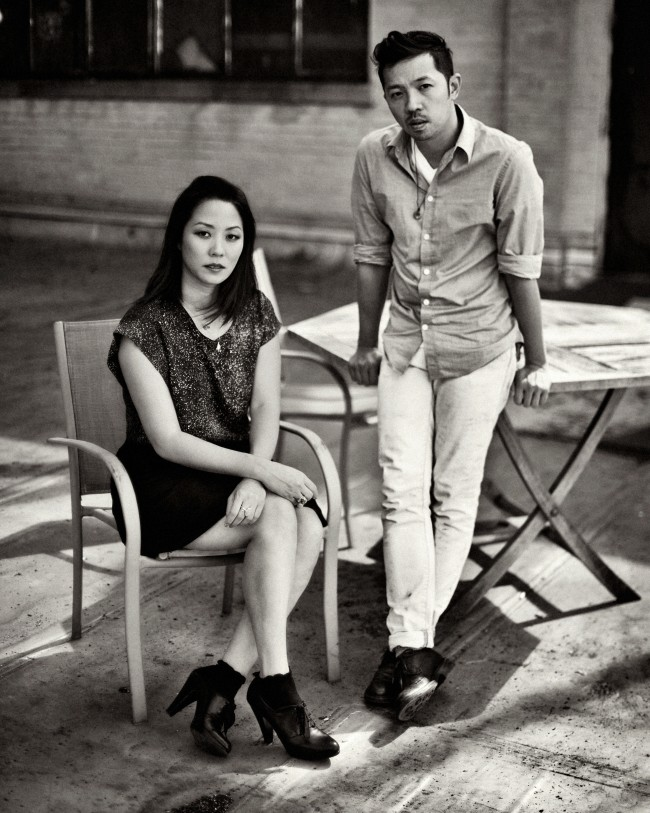 Carol Lim & Humberto Leon by Sebastian Kim