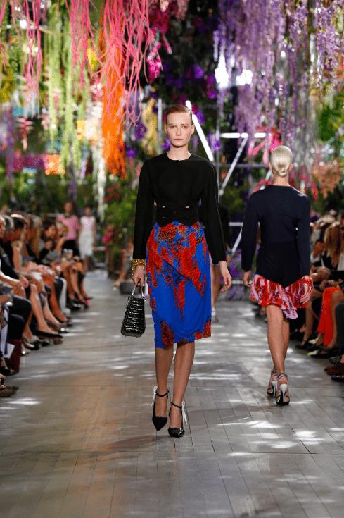 Dior Catwalk Modepilot Sommer 2014