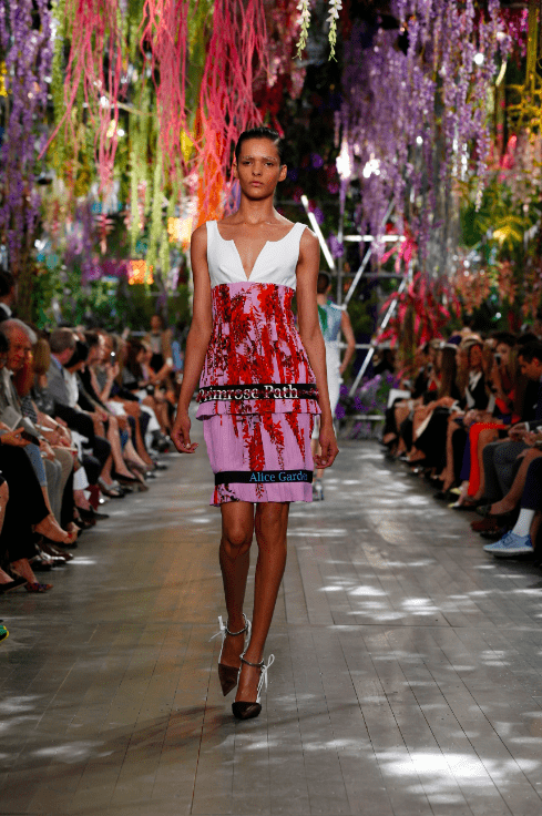 Dior Modepilot Sommer 2014 Runway