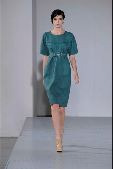 Jil Sander Kleid Sommer 2014 Modepilot