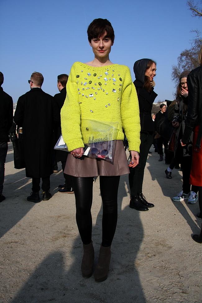 Modepilot-Designerin-Blame-deutsche Designer -Paris-Streetstyle-Foto: Markert