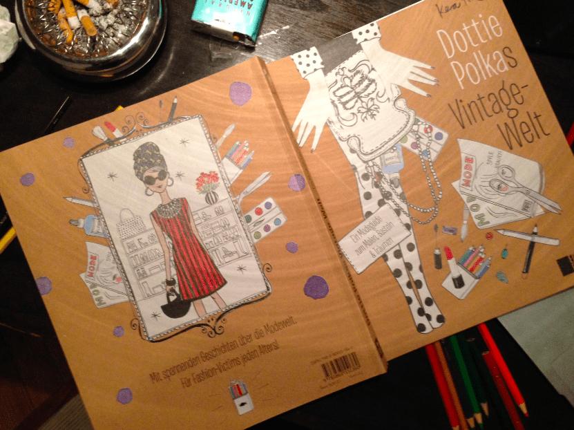 Dottie Polka Malbuch von Kera Till Modepilot
