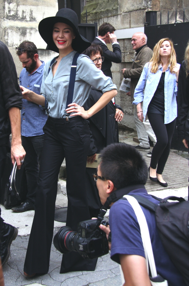 Modepilot-Streetstyle-Ulyana Sergeenko-Paris-Foto: Barbara Markert