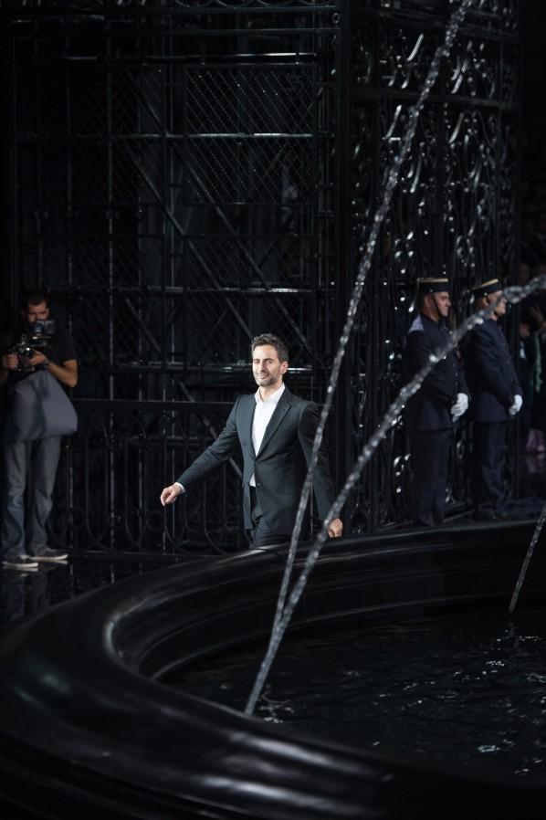 Marc Jacobs bei seinem letzten Defile für Louis Vuitton