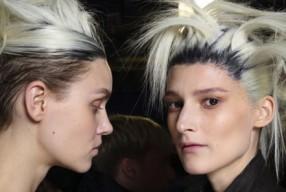 Modepilot-Ackermann-Bunte Haare