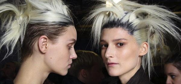 Dip-Dye-Spezial: Bunte Haare vom Laufsteg