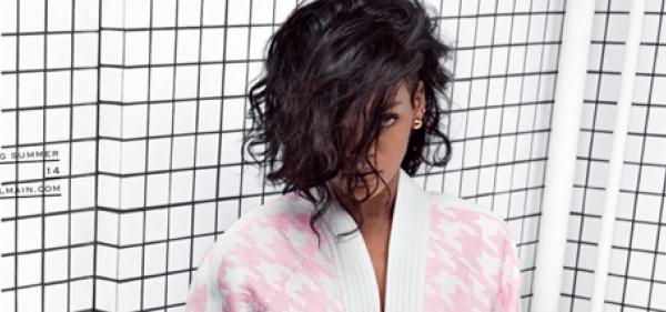 Rihanna als Rolemodel für Balmain