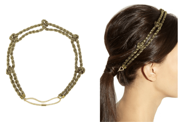 Haarschmuck Haarband Gold Modepilot