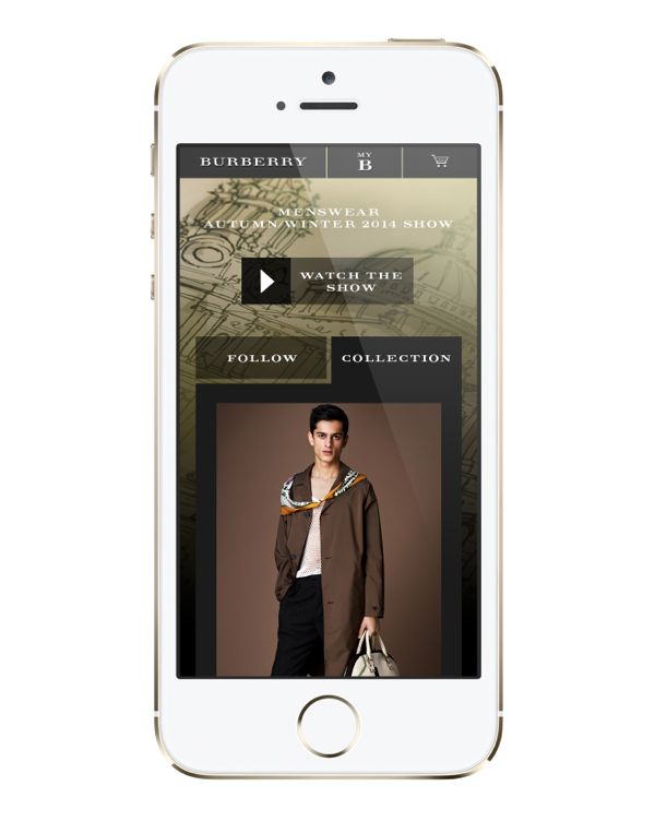 Burberry Prorsum Menswear Autumn_Winter 2014 Show - Experience on mobil_002