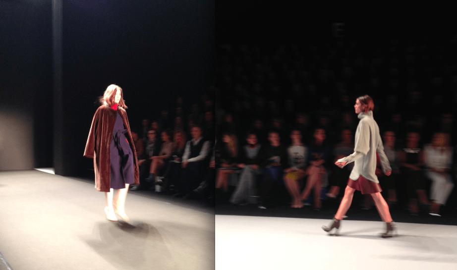 Mode von Alena Akhmadullina und Dorothee Schumacher für Herbst/Winter 2014/15