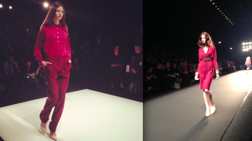 Mode von Hien Le (l.) und Alena Akhmadullina (r.) für Herbst/Winter 2014/15