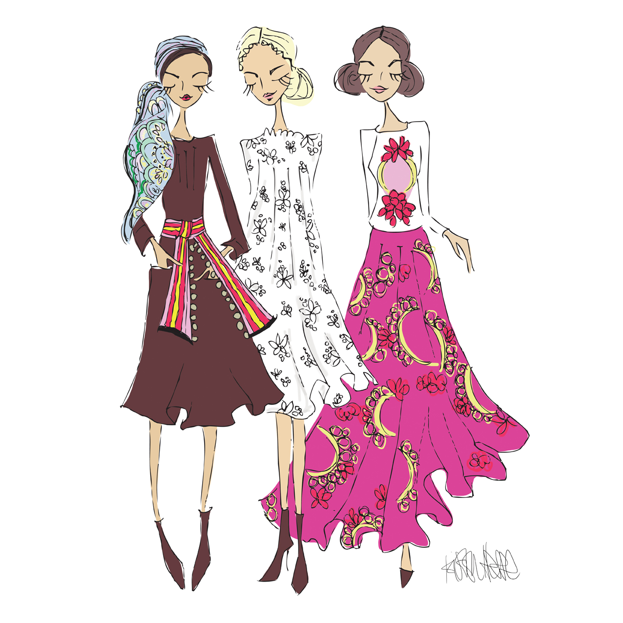 Kristin Hesse Illustratorin Modepilot