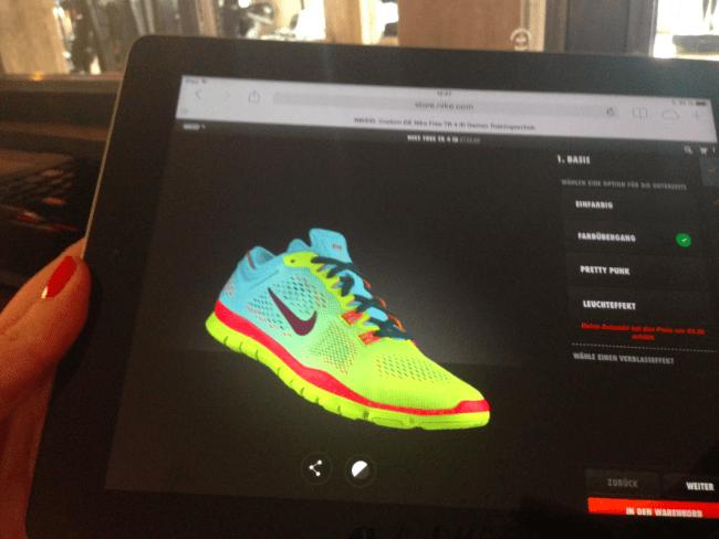 Nike ID Free TR 4 Modepilot