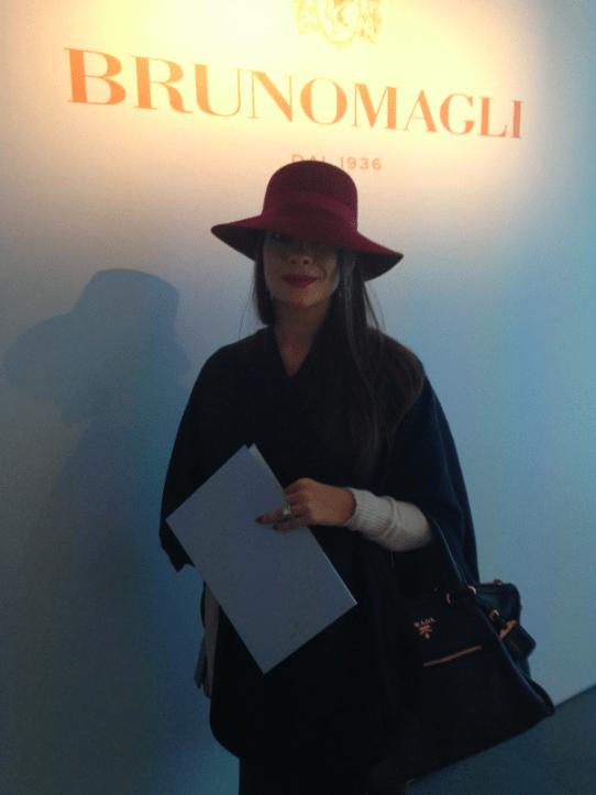 Hat streetstyle Milan Modepilot