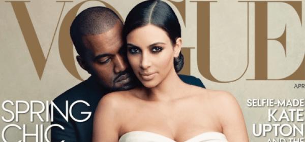 Kim & Kanye auf dem Cover der US Vogue