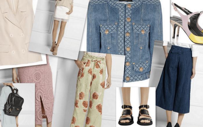 Frühjahr Trend Collage Modepilot