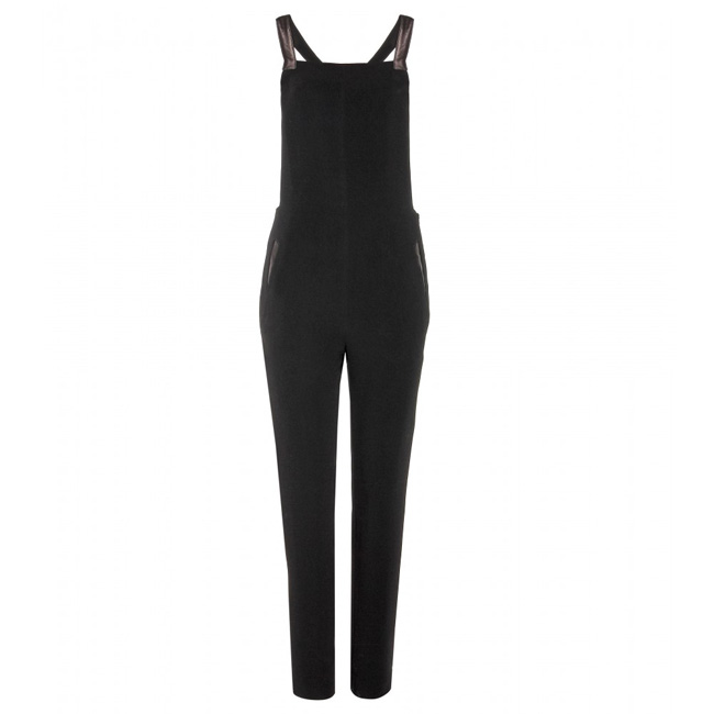 P00099494-Box-crepe-jumpsuit-with-leather--STANDARD