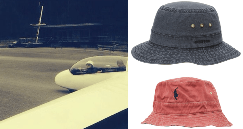 Segelflieger Mützen Hüte Kappen Modepilot