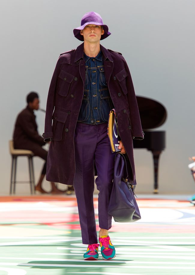 Burberry Prorsum Menswear Spring Summer 2015 Collection - Look 1
