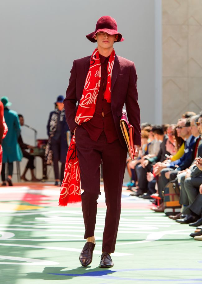 Burberry Prorsum Menswear Spring Summer 2015 Collection - Look 39