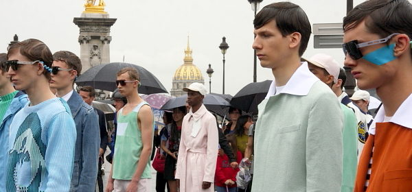 Kenzo: Catwalk in the Rain