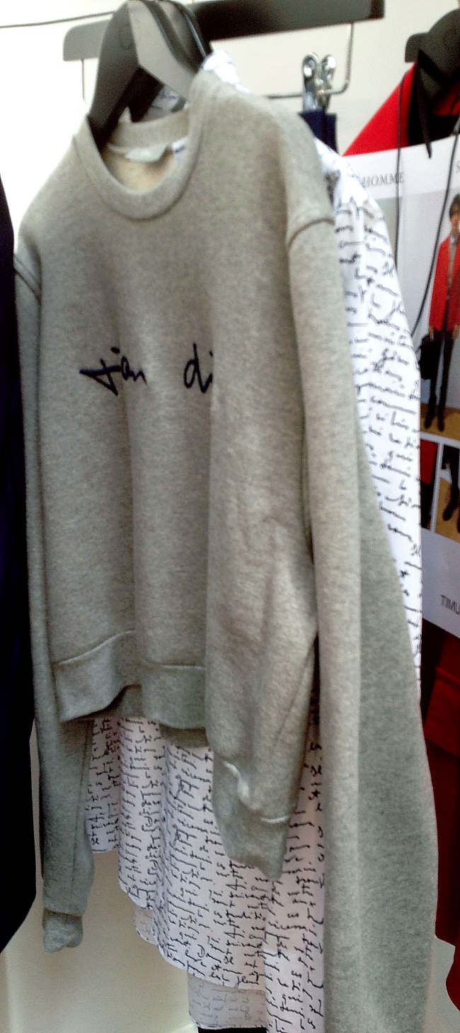 Modepilot-Dior Homme Cropped sweater